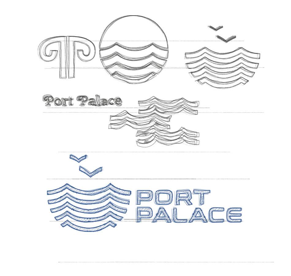 port palace logo formation